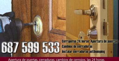 Cerrajeros en Pizarra