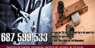 Cerrajeros en Ciudad Jardín Almería