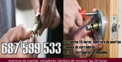Cerrajeros en La Mojonera