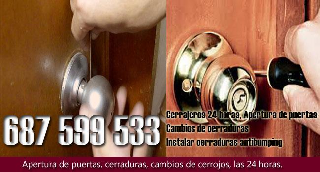 Cerrajeros en Los Barrios