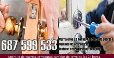 Cerrajeros en Villamartín